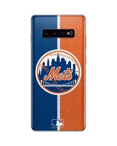 New York Mets Split Galaxy S10 Plus Skin