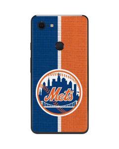 New York Mets Split Google Pixel 3 XL Skin