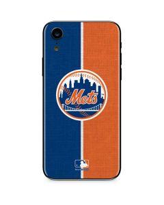 New York Mets Split iPhone XR Skin