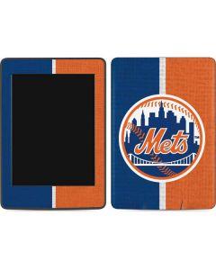 New York Mets Split Amazon Kindle Skin