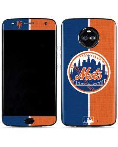 New York Mets Split Moto X4 Skin