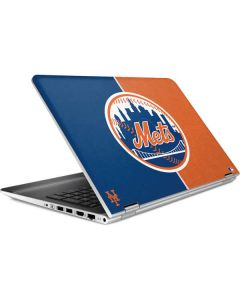 New York Mets Split HP Pavilion Skin