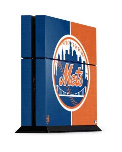 New York Mets Split PS4 Console Skin