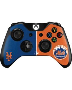 New York Mets Split Xbox One Controller Skin