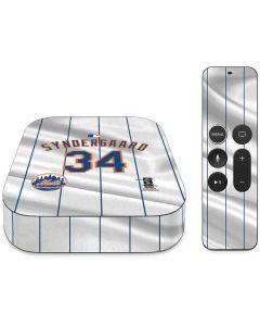 New York Mets Syndergaard #34 Apple TV Skin