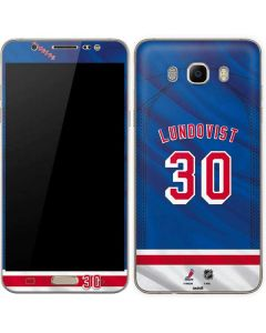 New York Rangers #30 Henrik Lundqvist Galaxy J7 Skin