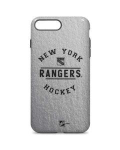 New York Rangers Black Text iPhone 8 Plus Pro Case