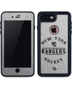 New York Rangers Black Text iPhone 8 Plus Waterproof Case