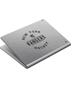 New York Rangers Black Text Surface Book Skin