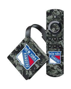 New York Rangers Camo Amazon Fire TV Skin