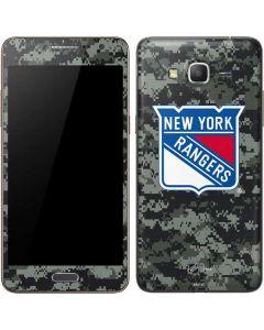 New York Rangers Camo Galaxy Grand Prime Skin