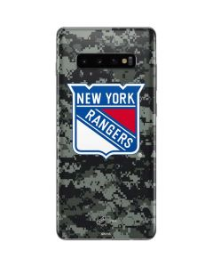 New York Rangers Camo Galaxy S10 Plus Skin