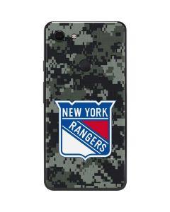 New York Rangers Camo Google Pixel 3 XL Skin