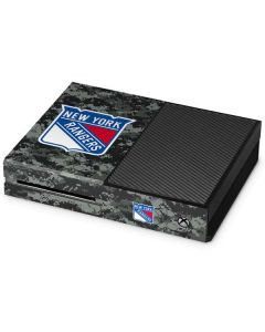 New York Rangers Camo Xbox One Console Skin
