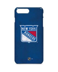 New York Rangers Distressed iPhone 8 Plus Lite Case