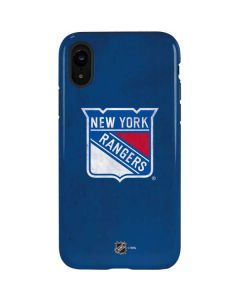New York Rangers Distressed iPhone XR Pro Case
