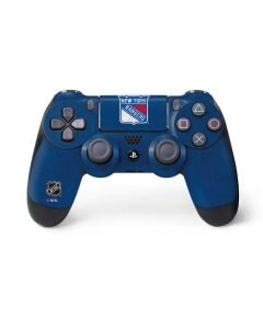 New York Rangers Distressed PS4 Controller Skin