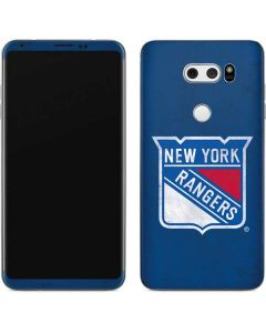New York Rangers Distressed V30 Skin