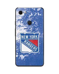 New York Rangers Frozen Google Pixel 3 XL Skin