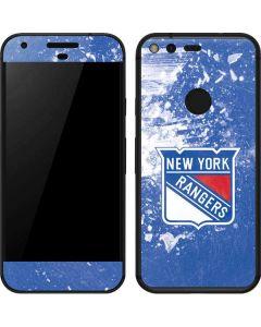 New York Rangers Frozen Google Pixel Skin