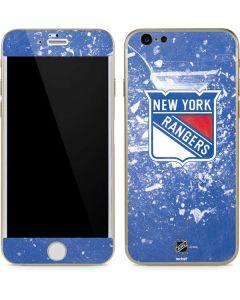 New York Rangers Frozen iPhone 6/6s Skin