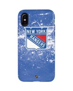 New York Rangers Frozen iPhone X Pro Case