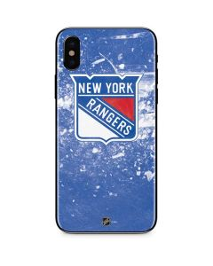 New York Rangers Frozen iPhone XS Skin