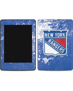 New York Rangers Frozen Amazon Kindle Skin