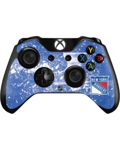 New York Rangers Frozen Xbox One Controller Skin