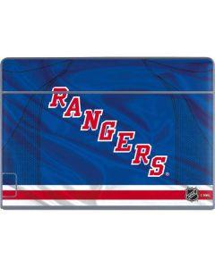 New York Rangers Home Jersey Galaxy Book Keyboard Folio 12in Skin