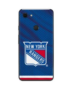 New York Rangers Home Jersey Google Pixel 3 XL Skin