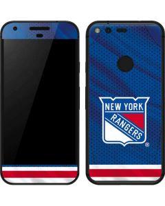 New York Rangers Home Jersey Google Pixel Skin