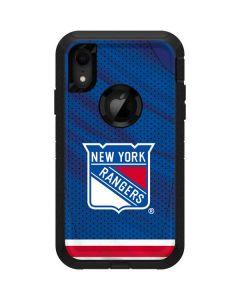 New York Rangers Home Jersey Otterbox Defender iPhone Skin
