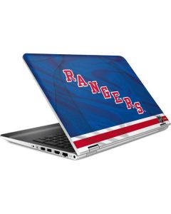 New York Rangers Home Jersey HP Pavilion Skin