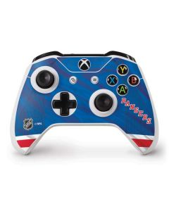 New York Rangers Home Jersey Xbox One S Controller Skin