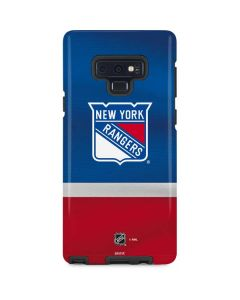 New York Rangers Jersey Galaxy Note 9 Pro Case