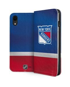 New York Rangers Jersey iPhone XR Folio Case
