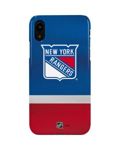 New York Rangers Jersey iPhone XR Lite Case