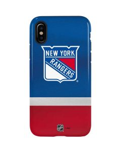 New York Rangers Jersey iPhone XS Max Pro Case