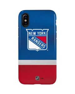 New York Rangers Jersey iPhone XS Pro Case
