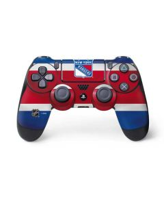 New York Rangers Jersey PS4 Controller Skin