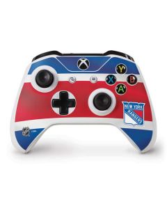 New York Rangers Jersey Xbox One S Controller Skin