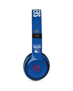 New York Rangers Lineup Beats Solo 2 Wireless Skin