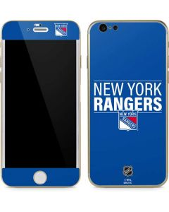 New York Rangers Lineup iPhone 6/6s Skin