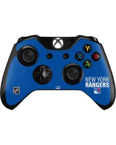 New York Rangers Lineup Xbox One Controller Skin