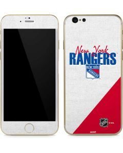 New York Rangers Script iPhone 6/6s Skin