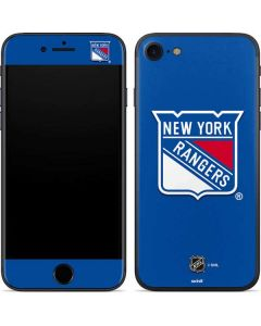New York Rangers Solid Background iPhone 7 Skin