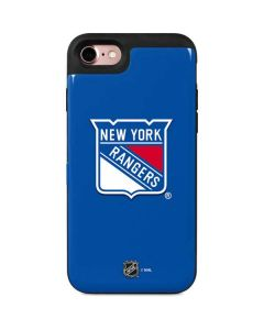 New York Rangers Solid Background iPhone 8 Wallet Case