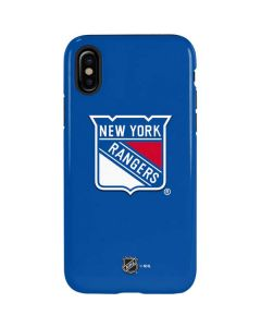 New York Rangers Solid Background iPhone X Pro Case