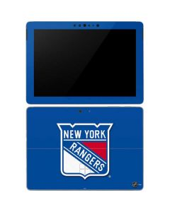 New York Rangers Solid Background Surface Go Skin
